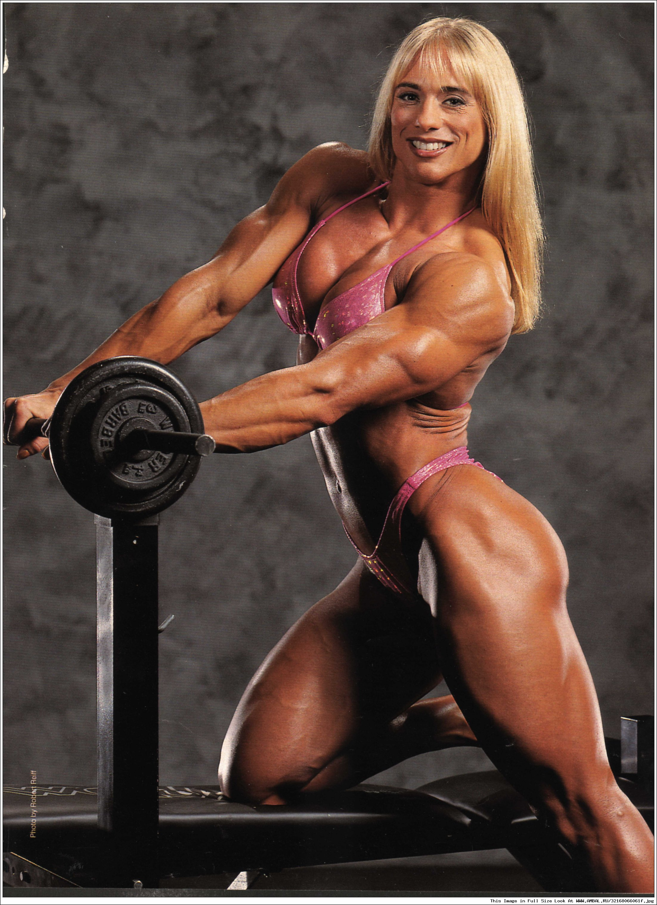Free video muscle woman anime photos
