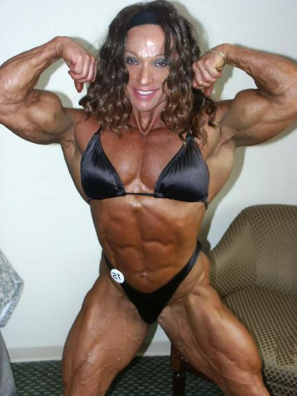 muscle female Colette guimond