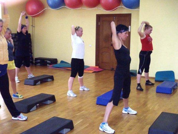 Мастер класс фитнес чернигов