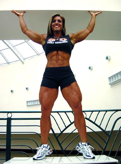 gina davis muscle