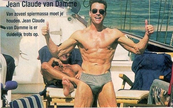 Обнаженный жан клод ван дамм фото 103-354