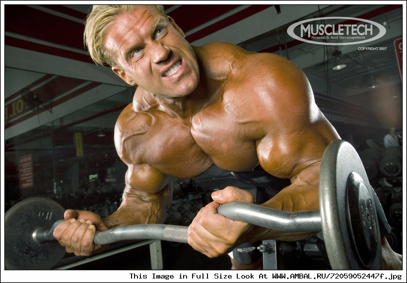 Jay cutler workout routine training