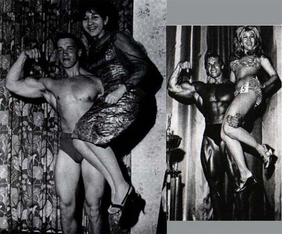 Arnold schwarzenegger naked in the shower 1
