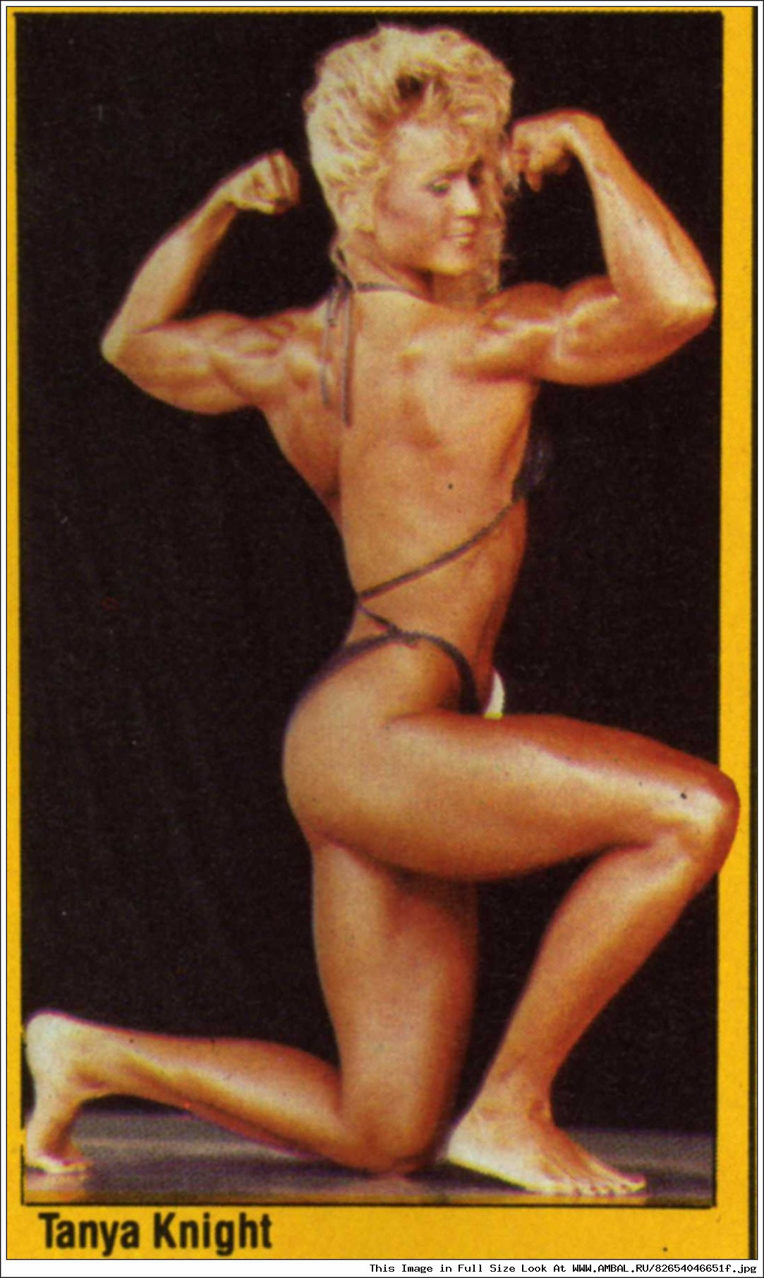 Tonya knight nude pics naked actress