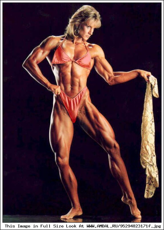 an analysis of the resistance in female bodybuilders