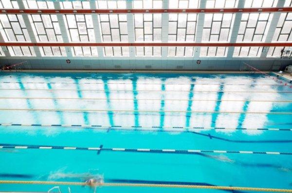 Дворец водного спорта лазурный