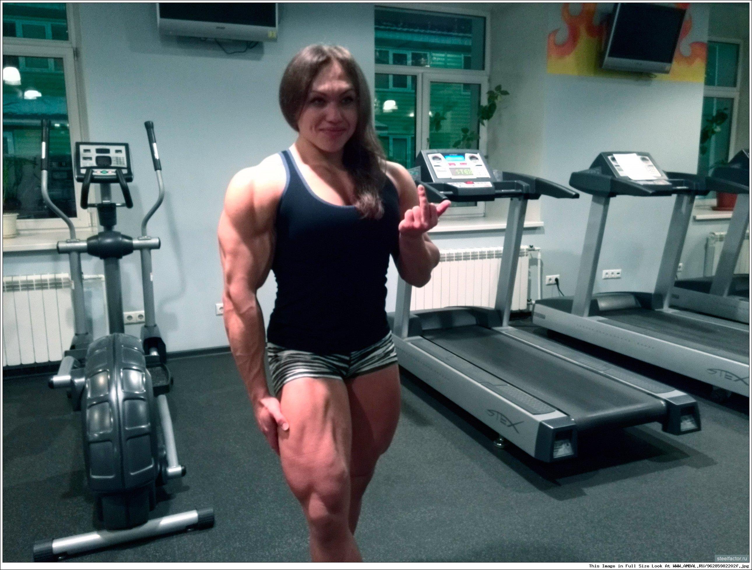 Русская женщина качок 3 фотография