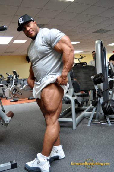 calves grow on steroids